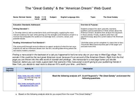 theme of great gatsby yahoo answers american dream essay great gatsby madrat co