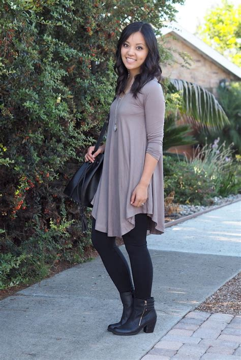Hints On Wearing Dresses by If You Wear A High Pair Of Boots Adding Tights That Match