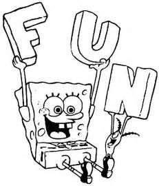 Galerry spongebob cartoon coloring pages