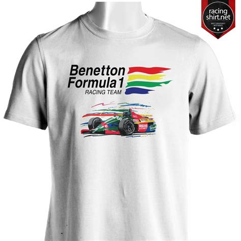 T Shirt 1 benetton formula 1 team retro f1 shirt ebay
