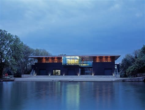 boat house oxford belsize architects university college boathouse