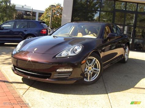 porsche metallic 2012 mahogany metallic porsche panamera 4 55019459 photo