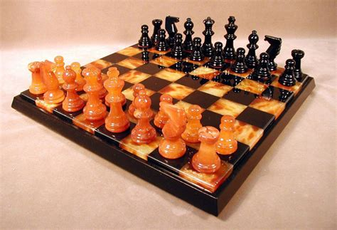 interesting chess sets unique stone chess sets