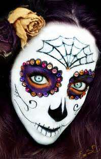Sugar Skull Halloween Makeup By Chuchy5 On Deviantart