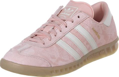 adidas hamburg w shoes pink