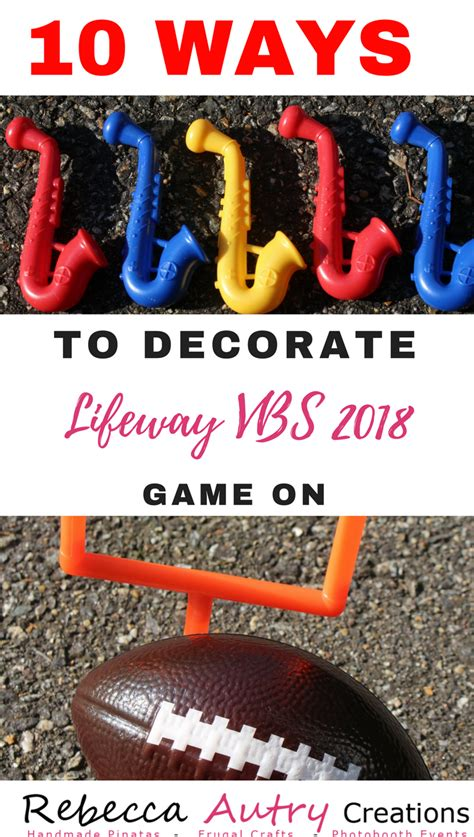 Simple Birthday Party Decorations At Home by 10 Ways To Decorate Lifeway Vbs 2018 Game On Rebecca