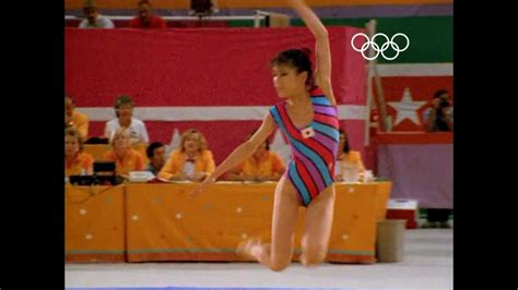 rhythmic gymnastics makes it s olympic debut los angeles 1984 olympics