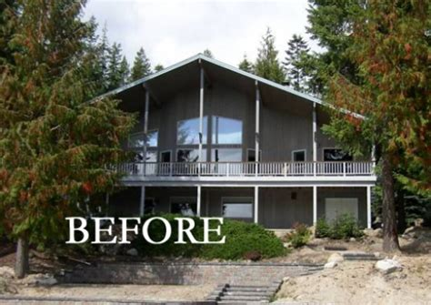 1980s Contemporary House Remodel | 1980s contemporary house remodel before after from dated