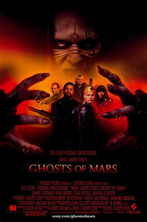 Film Ghost Of Mars | john carpenter s ghosts of mars movie posters from movie