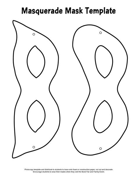mardi gras mask template face masks pinterest mask