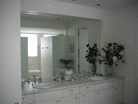 large frameless bathroom mirrors decor ideasdecor ideas