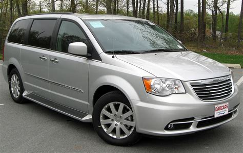 Chrysler Town And Country Touring by Chrysler Minivans Rt