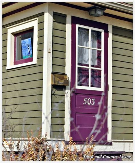 green house door color sensational color combos plum olive green front door