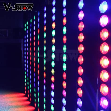 New Arrival Meyline 60101 1 4in1 new arrival individual cob led washer 18pcs 10w rgbw 4in1 for building v show china