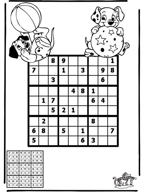Sudoku Dálmatas - Puzzle