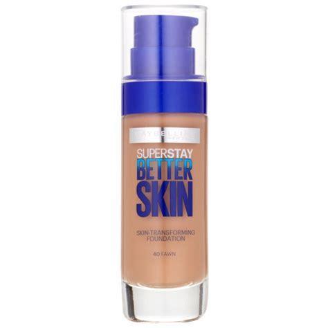 Maybelline Superstay Better Skin Foundation maybelline superstay better skin foundation spf 15