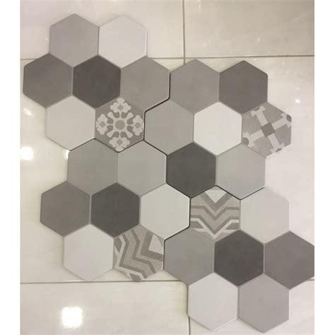 piastrelle 40x40 mattonella esagonale multicolor 40x40