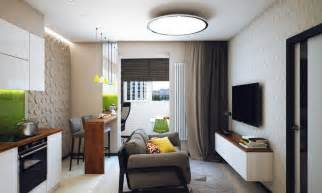 2 Bedroom Flat Decorating Ideas Minimalist 1 Bedroom Apartment Designed For A Young Man