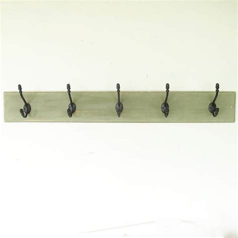 traditional vintage painted wooden coat racks by seagirl