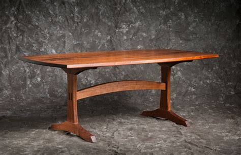 Handmade Trestle Tables - trestle table brian boggs