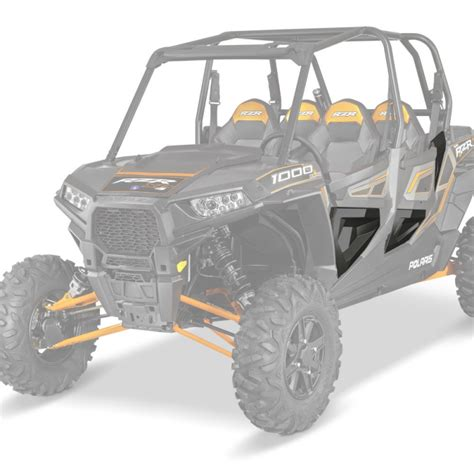 Rzr 1000 Lower Doors by Rzr 174 Xp 4 1000 Black Lower Half Doors By Polaris