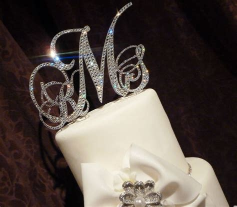 Monogram Wedding Cake Toppers by 11 Wedding Decorations You Can Buy For Really Cheap