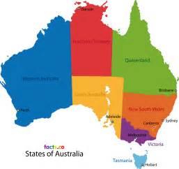 Map Of Australian States by Australia Map Political Australia Map Outline Blank