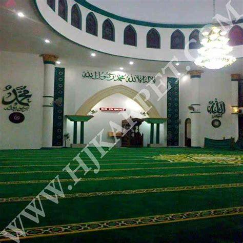 Karpet Masjid Karpet Masjid karpet masjid al muhajirin larangan indah ciledug pusat karpet masjid