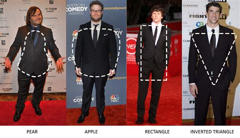 mens inverted triangle style all of us are unique and so is our body type style my
