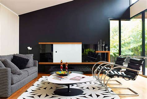 30 exquisite black wall interiors for a modern home freshome