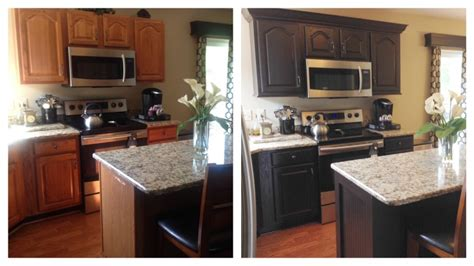 how to paint kitchen cabinets brown chocolate milk painted kitchen cabinets general finishes design center