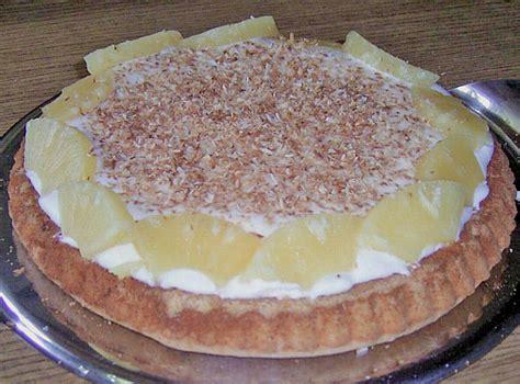frischer kuchen fruchtig frischer ananas kokos kuchen rezept mit bild