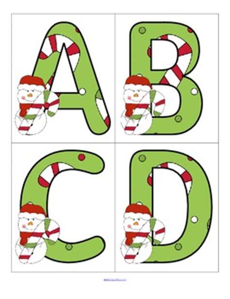 printable alphabet christmas christmas alphabet flashcards upper and lower case free