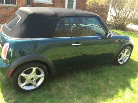 Used Mini Cooper Milwaukee Find Used 2005 Mini Cooper Convertible Base 1 6l In