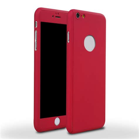 Softcase Ultrathin List Chrome Apple Iphone 6 6s 4 7 In Diskon 360 all inclusive for iphone 6s 6p 4 7 quot 5 5 quot back cover tempered ebay