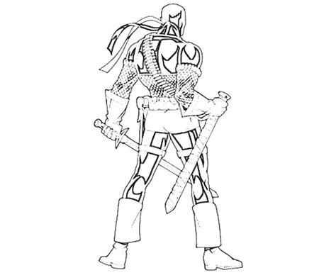 free death stroke coloring pages