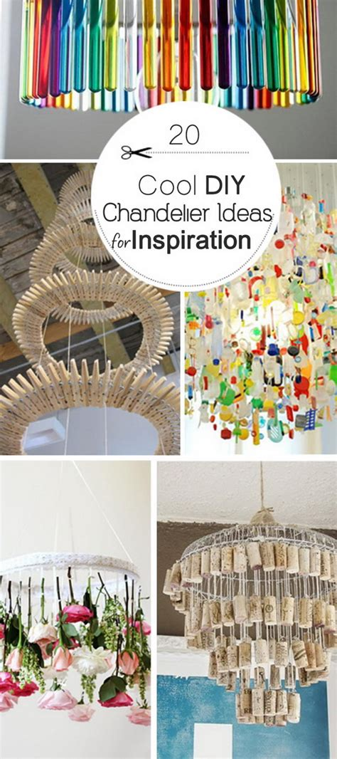 20 Cool Diy Chandelier Ideas For Inspiration Hative Diy Chandelier Ideas