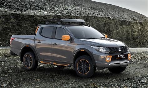 mitsubishi l200 mitsubishi flavors up l200 and asx with geoseek concepts