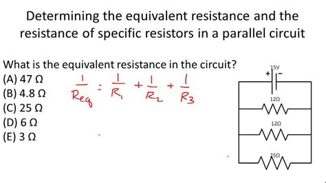 problems about resistors resistors in parallel ck 12 foundation