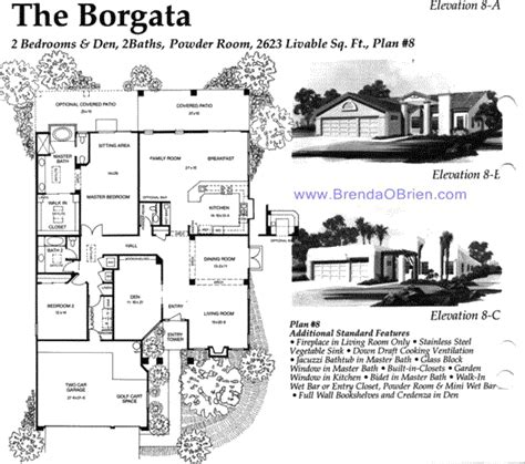 borgata floor plan saddlebrooke floor plan borgata model