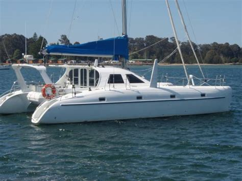 boat mooring batemans bay schionning 1250 cosmos boat sold sailing catamaran for