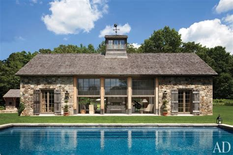 connecticut house an airy connecticut poolhouse architectural digest