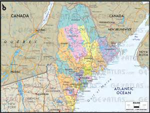 maine and canada map geoatlas united states and canada maine map city