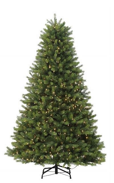 pre lit trees with clear and multi lights 7 5 ft windham fir artificial tree pre lit with