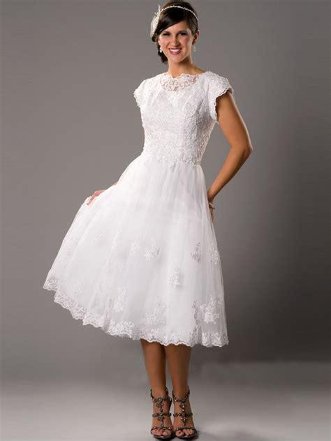 simple tea length wedding dresses vintage tea length wedding dresses highfashiontips