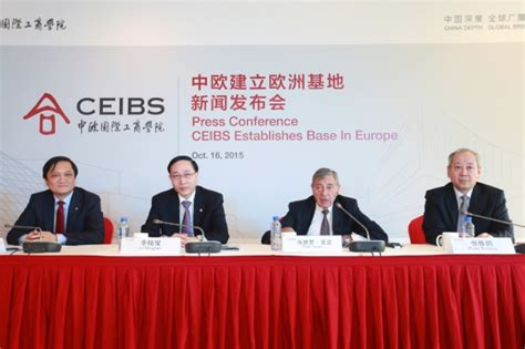 Ceibs Mba Statistics by Leading B School Establishes Cus In Europe