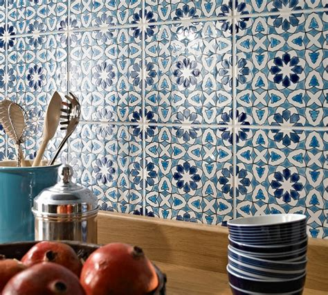 moroccan tiles kitchen backsplash moroccan shapes the colors the drama
