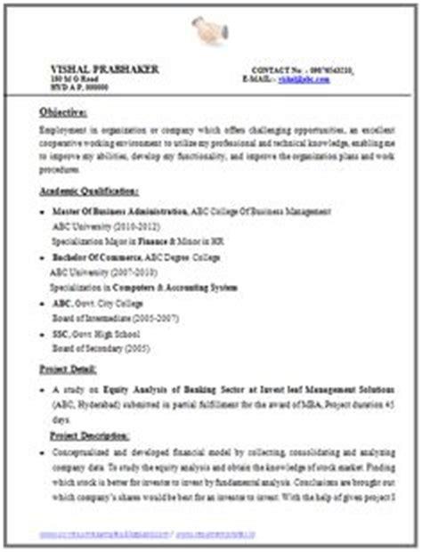 seekers cv template international standard resume sle for all seekers