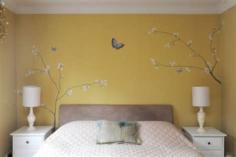 Yellow Painted Bedrooms by The Yellow Bedroom Contemporary Bedroom South East