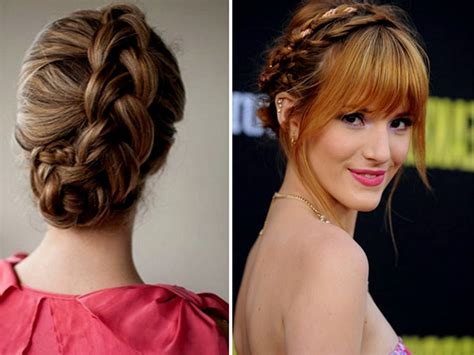 hairstyles bangs braids top 17 simple and effective braid hairstyles with bangs